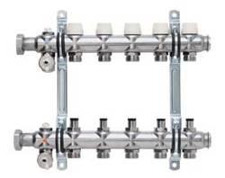 """Распределитель XNET Standart, 1 1/4"""" Коллектор с запорными вентилями (без расходомеров)(пара)"""